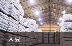 上質な原料大豆の供給